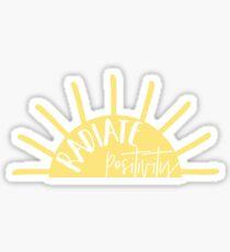 Pegatina irradia positividad