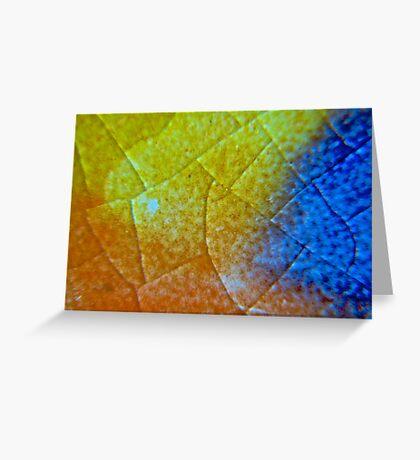 Crystaline Ceramics Greeting Card
