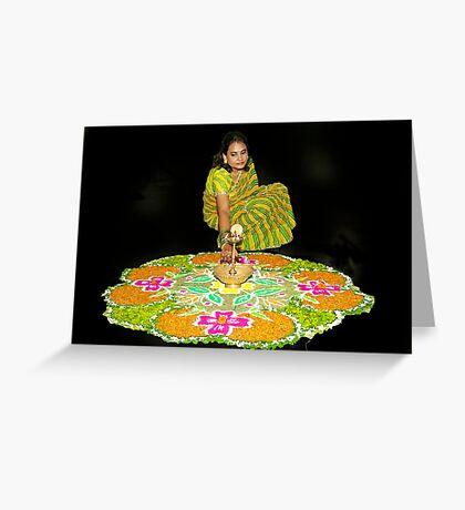 Rangoli Greeting Card