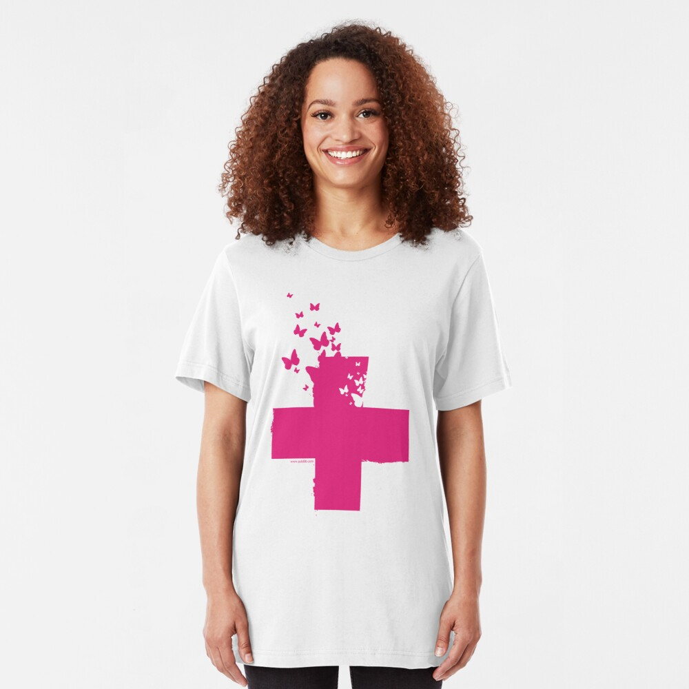 Rescue Pink /// Slim Fit T-Shirt