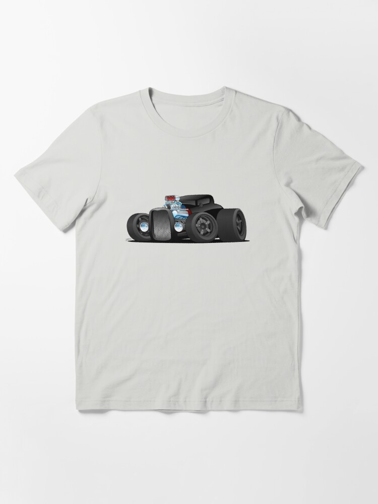 Alternate view of Custom Black Hot Rod Coupe Essential T-Shirt