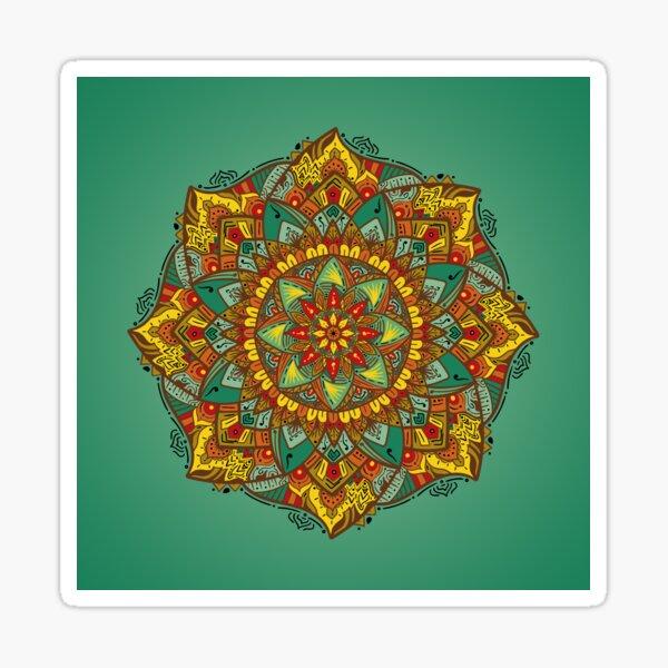 Mandala bloom Pegatina