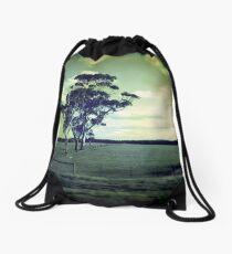 LOOKING BACK Drawstring Bag