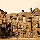 Military hospital, Edinburgh Castle. by Finbarr Reilly
