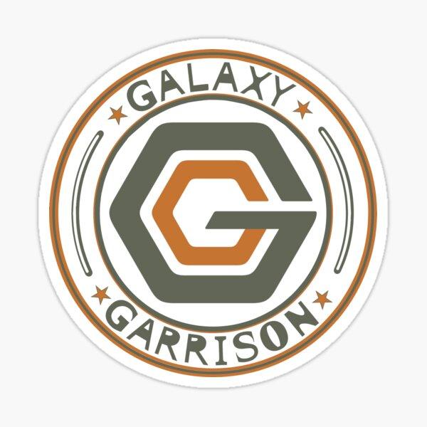 galaxy garrison seal Sticker