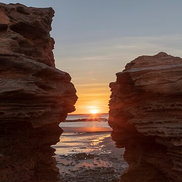 Sunrise at Entrance Point, Broome W.A. by Sandra