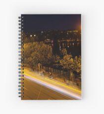 Prague at Night Spiral Notebook
