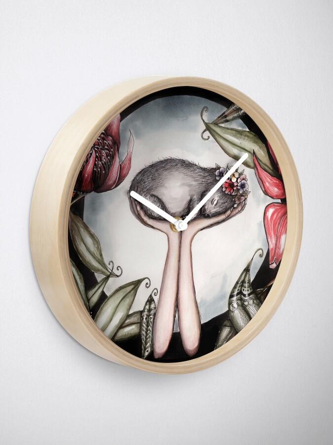 Alternative Ansicht von Ein kleines Stück Australien Uhr