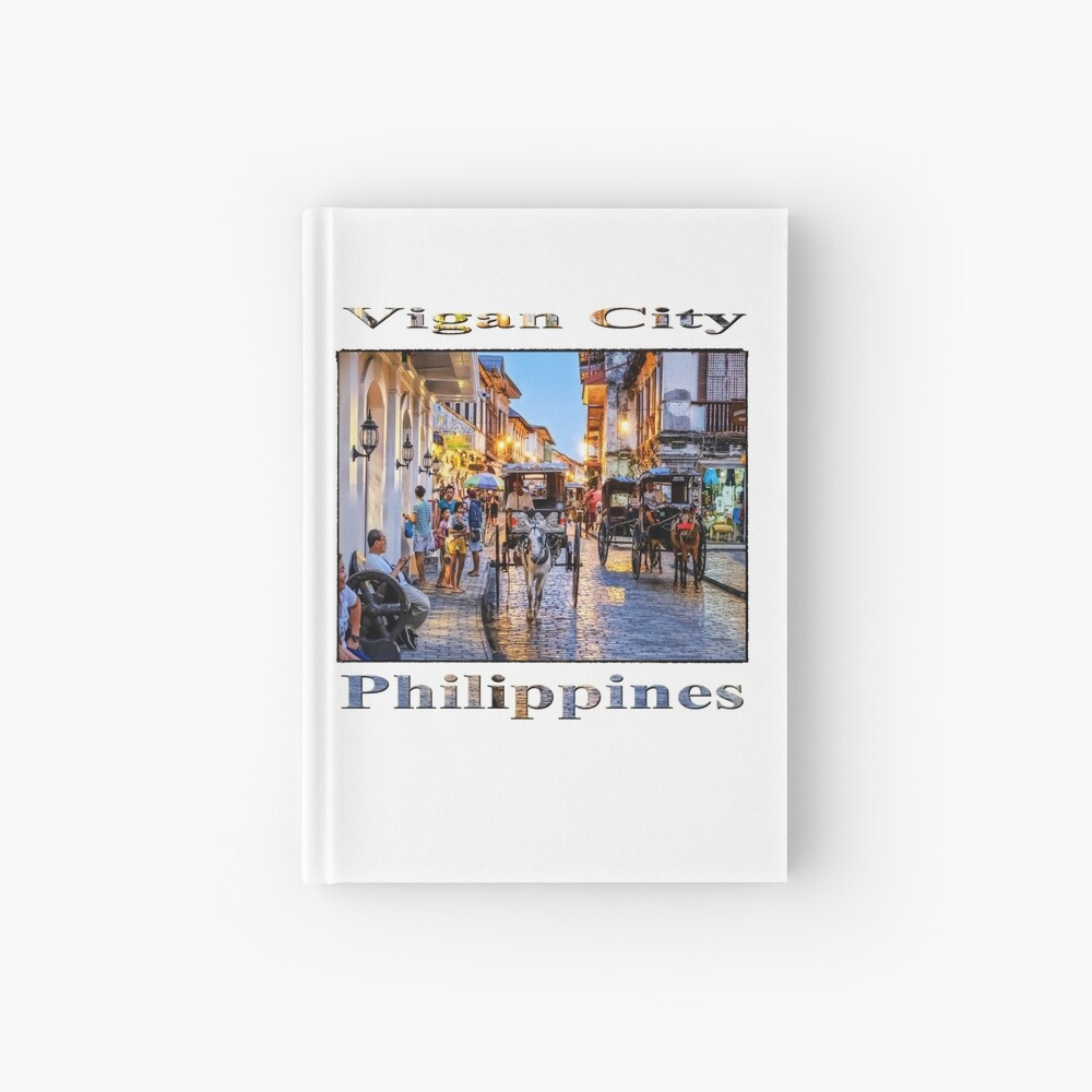 Rush Hour in Vigan City Hardcover Journal