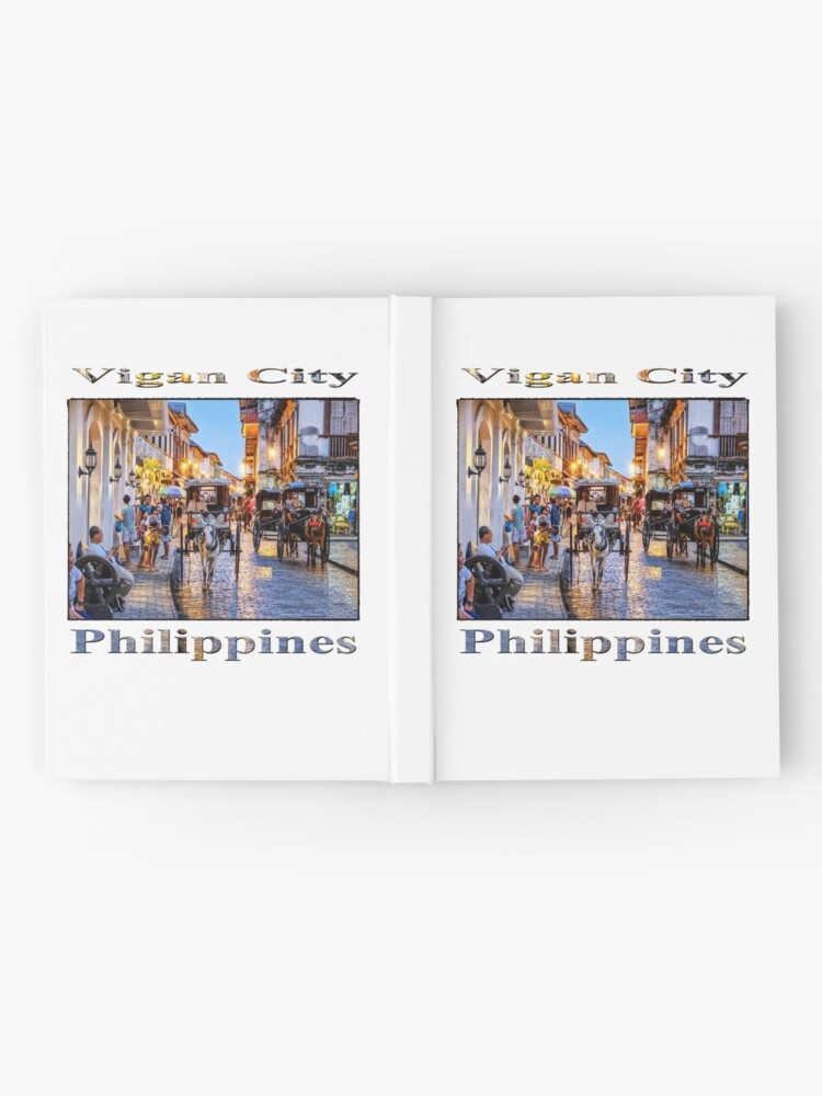Alternate view of Rush Hour in Vigan City Hardcover Journal