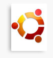 Ubuntu Logo Canvas Print