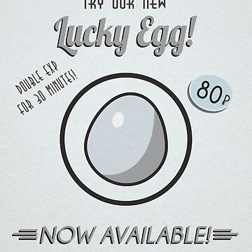 Retro Lucky Egg by AgentSilver