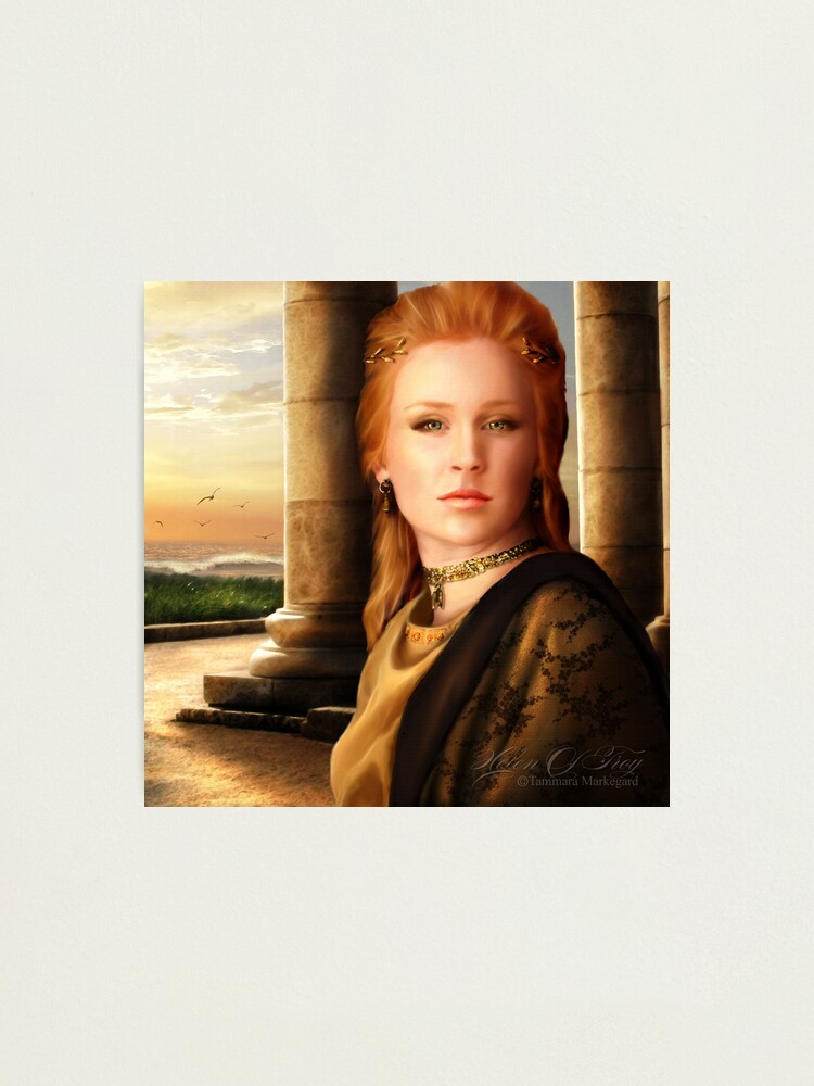 Alternate view of Helen of Troy Photographic Print