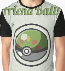 Retro Friend Ball Graphic T-Shirt