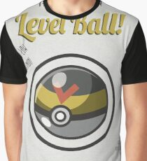 Retro Level Ball Graphic T-Shirt