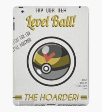 Retro Level Ball iPad Case/Skin