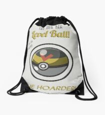 Retro Level Ball Drawstring Bag