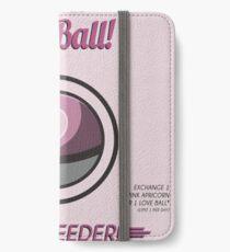 Retro Love Ball iPhone Wallet/Case/Skin