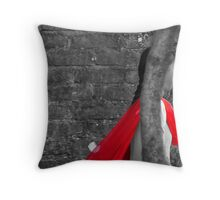 RED INDI Throw Pillow