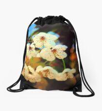 Canvas Blossoms... Drawstring Bag