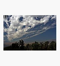 Blanket of Clouds Photographic Print