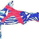 Preppy Shark by coleenross