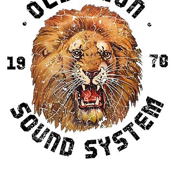 Old Lion Sound System (colour) by BorleyB