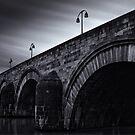 Maastricht Bridge by Joel Tjintjelaar