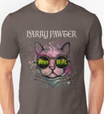 cat t-shirt | Harry Pawter Funny T-Shirt Cute Magic Cat With Glasses Gift for men and woman Unisex T-Shirt