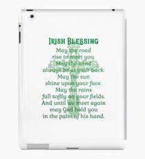 Irish Blessing iPad Case/Skin