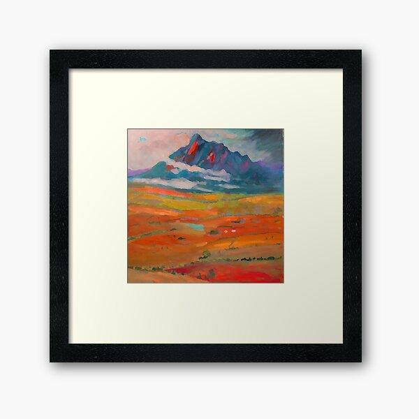 Mt Barney  Framed Art Print