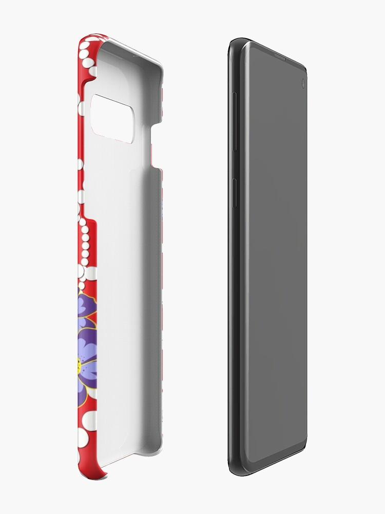 Alternative Ansicht von Crimson und Perlen Hüllen & Klebefolien für Samsung Galaxy