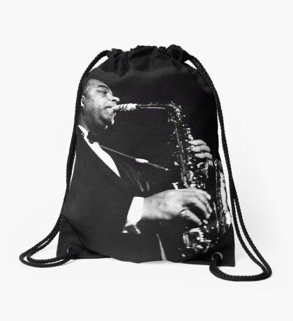 Big Band Sax Drawstring Bag