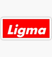 Ligma Sticker
