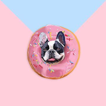 French Bulldog Donut  de Lostanaw