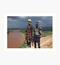 MENACING - ETHIOPIA Art Print