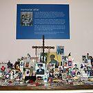 Memorial Altar at St Paul's Chapel, Manhattan, New York by Bev Pascoe
