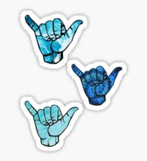 3pc. Hang Loose Stickers Sticker