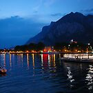 Lecco by night by Ameth