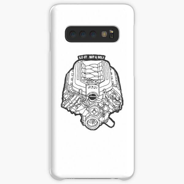 Ford Mustang GT 5.0 V8 Engine Samsung Galaxy Snap Case