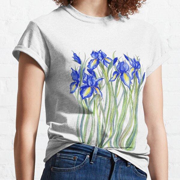 Blue Iris, Illustration Classic T-Shirt