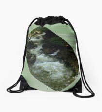 River Portal Drawstring Bag