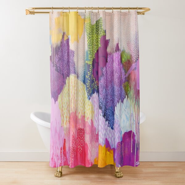 Summer Haze Shower Curtain