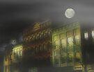 Foggy Night, Northampton by RC deWinter