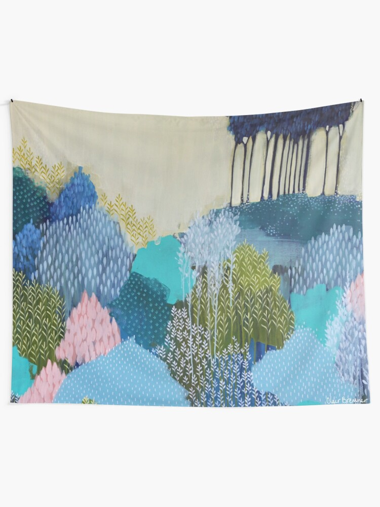 Alternate view of Into the Distance Tapestry