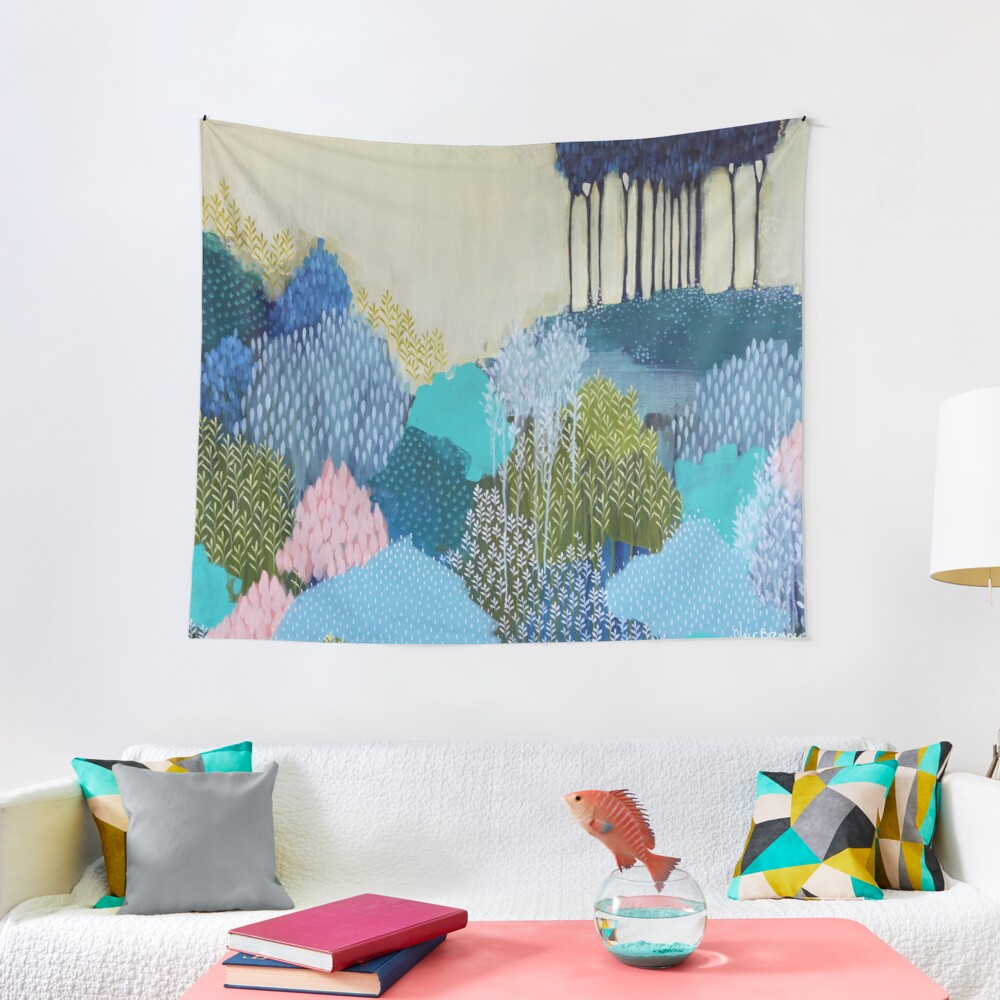 Into the Distance Tapestry