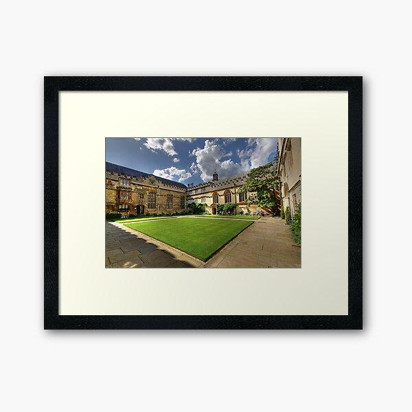 Jesus College Oxford Framed Art Print