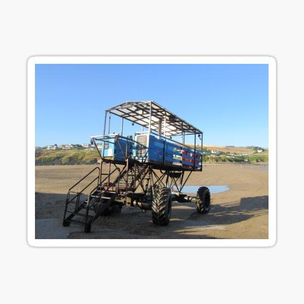 The Sea Tractor Sticker