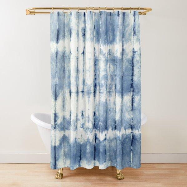 Indigo Shore Shower Curtain