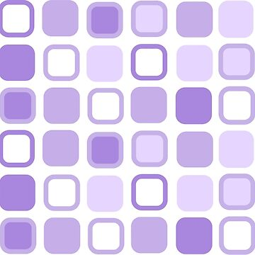 Retro Art Lilac Squares by biglnet